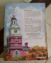 Vintage Sears, Roebuck And Co. Fall/winter 1952 Catalog 1442 Pages Philadelphia