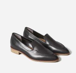 Brand New In Box Everlane The Modern Leather Loafer, Black, Sz 9