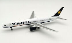 Inflight 200 If752vg1220 1/200 Varig Boeing 757-256 Pp-vtt With Stand