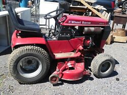 Wheel Horse 414-8 Riding Tractor Lawn Mower - 42 Rear Discharge Local Pickup