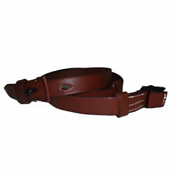 German Mauser K98 Wwii Rifle Mid Brown Leather Sling X 2 Units U049