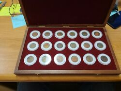 1808 Copper Cash East India Company Admiral Gardner Ship Wreck Coin Set Of 16