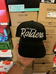 New Era Las Vegas Raiders Corduroy Hat Club Exclusive Fitted Hat Size 7 1/2