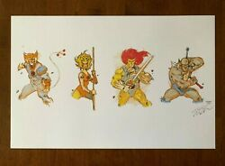 Thundercats Art Print/poster 11x17 Signed By Artist Tom Travers
