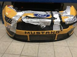 Clint Bowyer 14 Nascar Race Used Sheetmetal 2020 Rush Truck Centers Nose