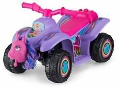 Kid Trax Toddler Unicorn Quad Kids Ride On Toy 6 Volt Battery 1.5-3 Years Old...