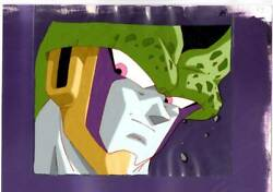Dragon Ball Animation Cel Sheet Cell In Perfect Form W/ Background Akira As515