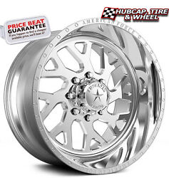American Force Lucky Ss8 Polished 20x14 Truck Wheels Rims 8 Lug Set Of 4