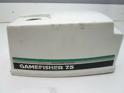 Sears Game Fisher Electronic Ignition Outboard Cowl Engine Cover Hood 7.5hp