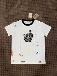 Lanvin X Gallery Dept White Painted Mother Daughter Womens T Size Large
