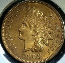 1909 Indian Head - Red Gem++ Superb - Very High Grade - Free Insured Shipping
