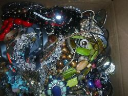 Craft Jewelry 23 Lbs. Lot C-6 Grab Bag Vintage And Cont. Various Craft Jewelry
