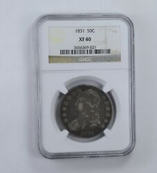 Xf40 1831 Capped Bust Half Dollar - Graded Ngc 1678