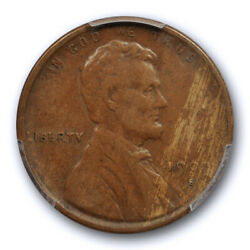 1909 S Vdb 1c Lincoln Wheat Cent Pcgs Vf 25 Very Fine To Extra Fine Key Date ...