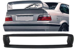 Rear Spoiler For Bmw E36 M3 Coupe 2dr 1992-1998 Spoilers Wings Black Primed 4pcs