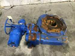 Flowserve Limitorque Electric Motor Actuated Right Angle Gear Drive W/ 11521
