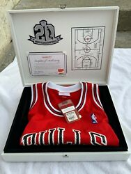 Mitchell And Nessmichael Jordan Limited Chicago Bulls Road Jersey 215/500