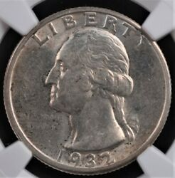 1932 D Washington Quarter Ngc Ms 62 Exceptional Full Strike And Glossy Surfaces