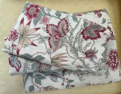 Pottery Barn Marie Palampore King Duvet Cover And 2 Standard Shams