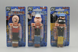 Klik Popeye Brutus And Olive Oyl Candy Dispensers Moc Display Only