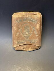 Vintage Rare Early 1900s John Hay Cigars Reading Pa Cigar Storage Pouch