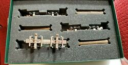Bachmann 27391 On30 Spectrum Set 3 Skeleton Log Cars With 7 Logs, In Box