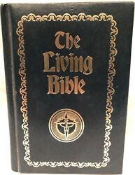 Rare The Living Bible - Stonecroft Ministries, 1st Printing 1975, Hardcover