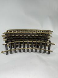 Lgb 11000 1100 X 12 Curved Brass Track 30° G-scale 4ft Circle Germany