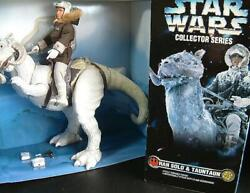Star Wars Collector Series Empire Strikes Back Han Solo And Tauntaun Kenner Rare