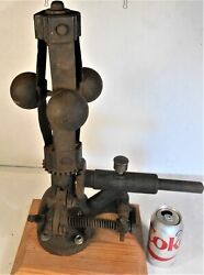 Fly Ball Governor Machinist Blacksmith Steam Engine Hit Miss Punk Saw Mill Rare