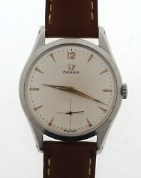 Omega Stainless Steel Vintage Watch Cal 266 Ref2750-5 Near Mint Condition C 1954