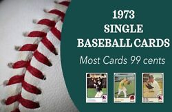 1973 Topps Baseball Complete Ur Set 1-249 Most 99 Cents