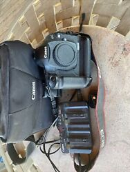 Near Perfect 🟢canon Eos 1d Mark Iii Body Charger And Battery And Canon Bag Japan