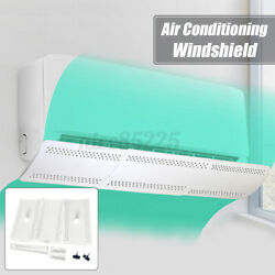 Adjustable Air Conditioner Cover Windshield Conditioning Baffle Shield Anti-wi