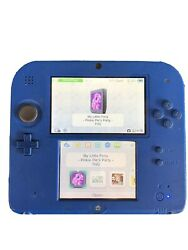 Blue Nintendo 2ds With 2gb Sd Card And Charger Tested And Working