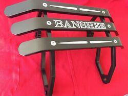 Yamaha Banshee Atv Front Bumper Fits All Yrs Engraved With Tear Drops Made In Us