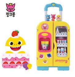 Pinkfong Baby Shark Talking And Melody Refrigerator Led Light Toy Korean Songs