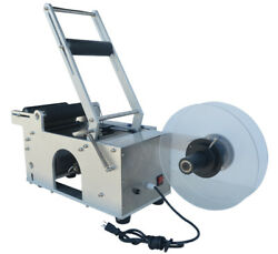 Stainless Steel Round Bottle Labeling Machine 110v Max. Label Size 3014.5cm