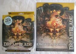 Dreamblade Wotc Base Set Starter Set With Rare Encyclopaedia A - New And Sealed