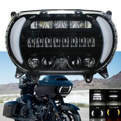For 2015 2016-2020 Road Glide Led Headlight Hi-low Drl Left Right Turn Signal