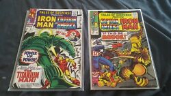 Tales Of Suspense 93 And 94 1st Appearance Of Modok Marvel Disney Tv Series Vg...