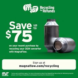 Catalytic Converter With Integrated Exhaust Manifold Fits 08-13 Rogue 2.5l-l4
