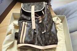 Louis Vuitton Sac A Dos Bosphore Monogram Backpack Mint Sold Out Rare