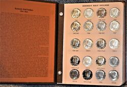 Kennedy Half Dollars Including Proof-only Issues Dansco 8166
