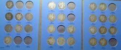 27 Different Barber Silver Half Dollars 1892-1903 Incl. 1893-s 1897-o 1893-o