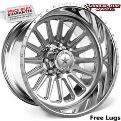 American Force Ck17 Battery Concave Polished 24x12 Wheel 6 Lug One Wheel