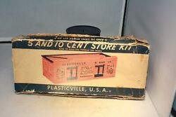 1950s Plasticville 5 And 10 Department Store O Gauge Bachmann Usa Free Shipping
