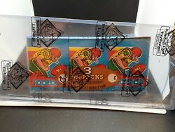 1979 Topps Football Sealed Grocery Rack Tray = Earl Campbell Rc - Bbce - Sca