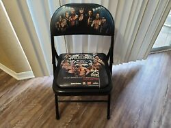 Wwe Wrestlemania 25th Anniversary Ringside Exclusive Ppv Plush Folding Chair