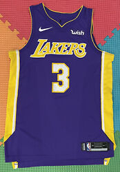 Lakers Game Worn Corey Brewer Team Isseud Size 48+2 Authentic Pro Cut Jersey